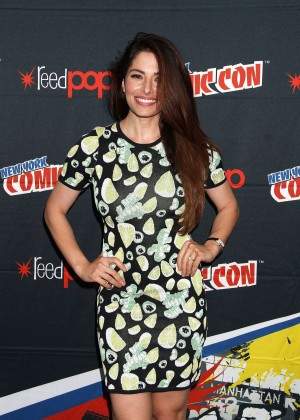 Sarah Shahi - Promoting Person of Interest at 2015 New York Comic-Con in NY