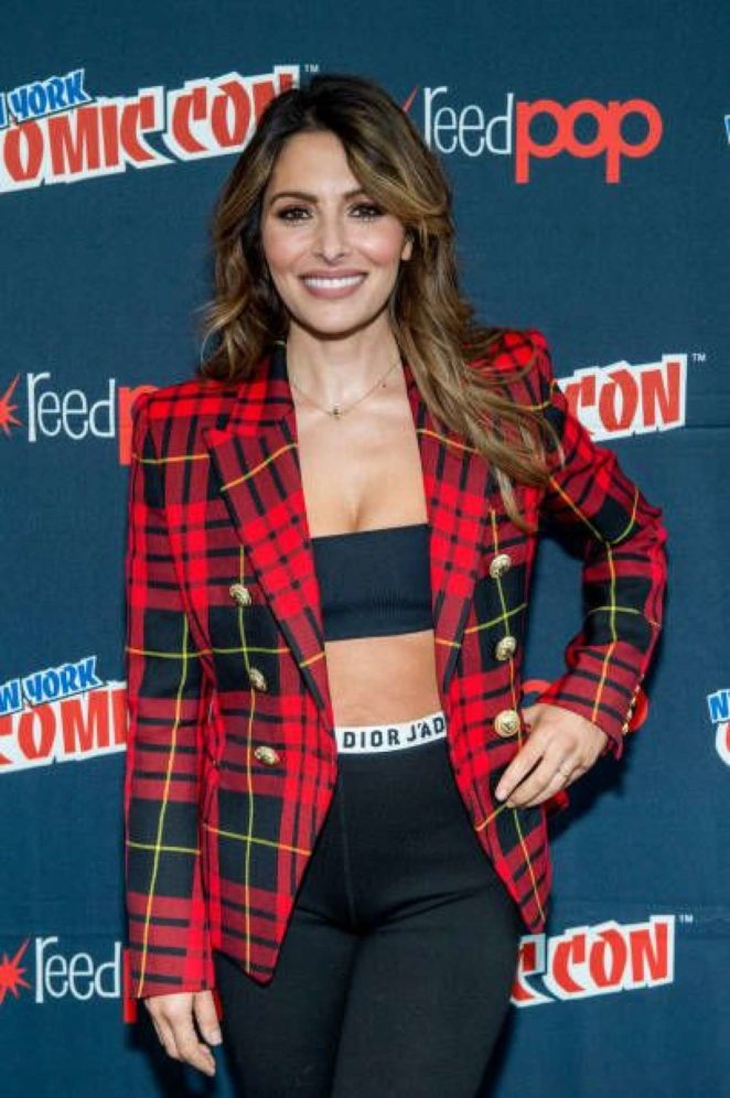 Sarah Shahi - Reverie press room at New York Comic Con 2017