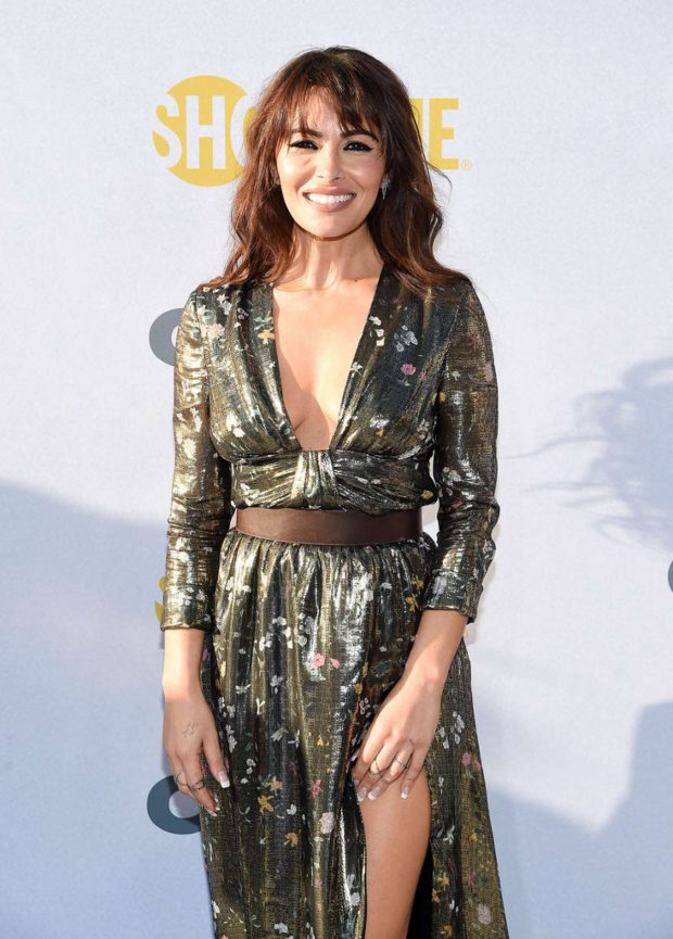Sarah Shahi - Showtime 'City On a Hill' in New York
