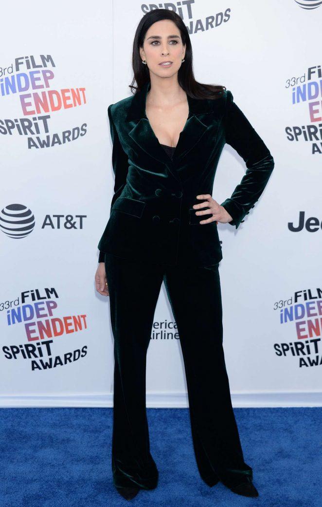 Sarah Silverman - 2018 Film Independent Spirit Awards in Santa Monica