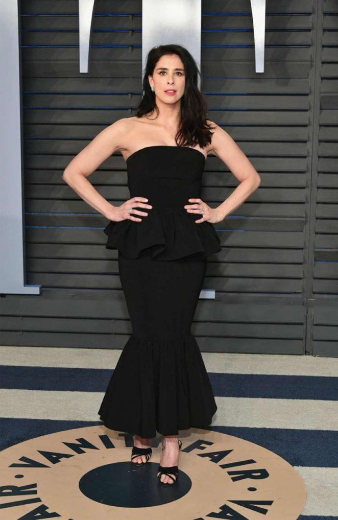 Sarah Silverman - 2018 Vanity Fair Oscar Party in Hollywood