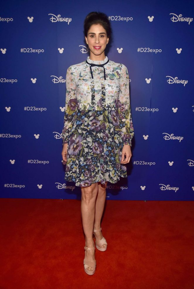 Sarah Silverman - Disney's D23 EXPO 2017 in Anaheim