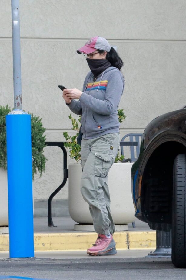 Sarah Silverman - Does her grocery shopping at Gelson's Market in Los Feliz