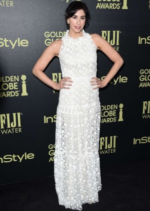 Sarah Silverman - HFPA And InStyle Celebrate The 2016 Golden Globe Award Season in West Hollywood