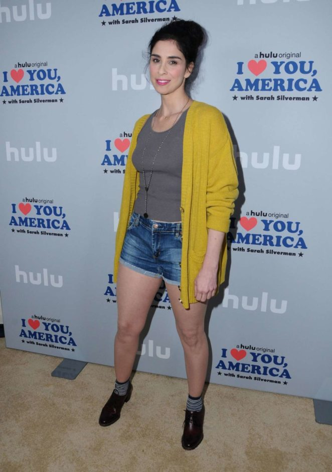Sarah Silverman - 'I Love You America With Sarah Silverman' Premiere in LA