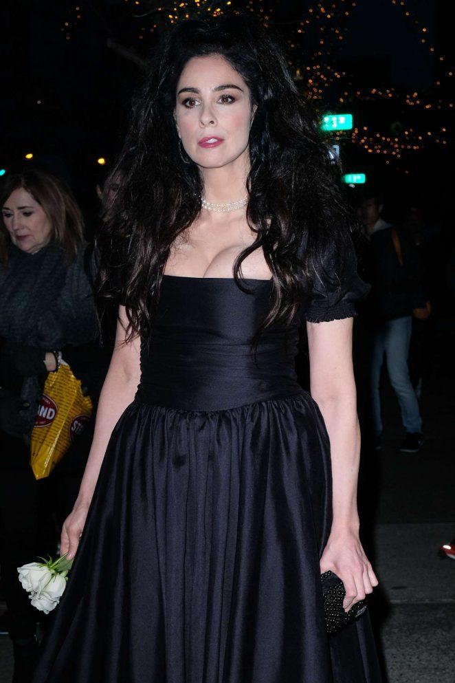 Sarah Silverman In Black Dress 07 Gotceleb