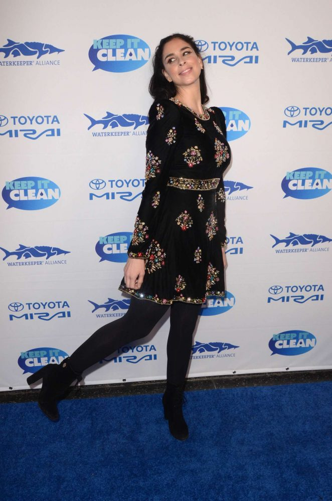 Sarah Silverman - Keep It Clean Love Comedy Benefit for Waterkeepers Alliance in LA