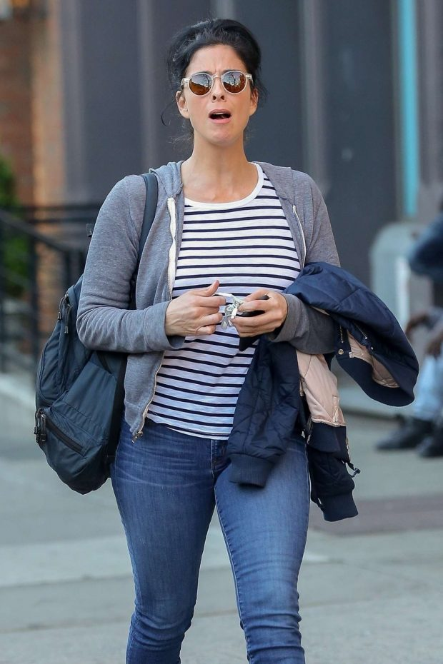 Sarah Silverman - Out for a stroll in New York City