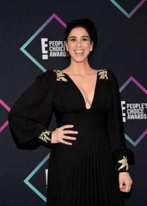 Sarah Silverman - People's Choice Awards 2018 in Santa Monica