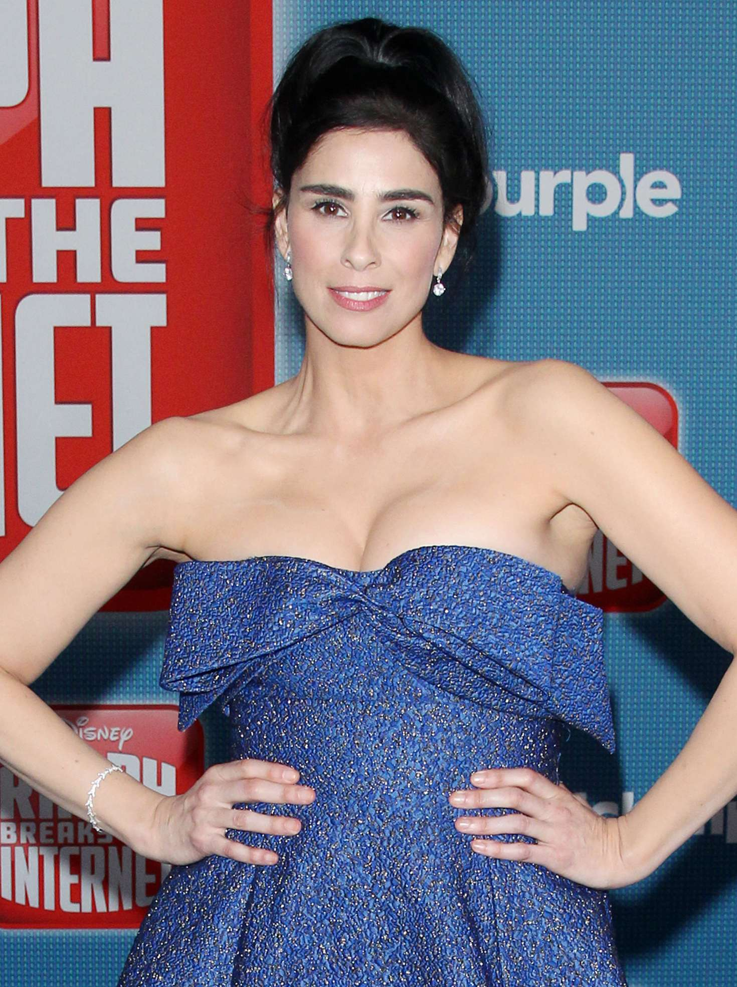 Sarah Silverman Ralph Breaks The Internet Premiere 05 Gotceleb