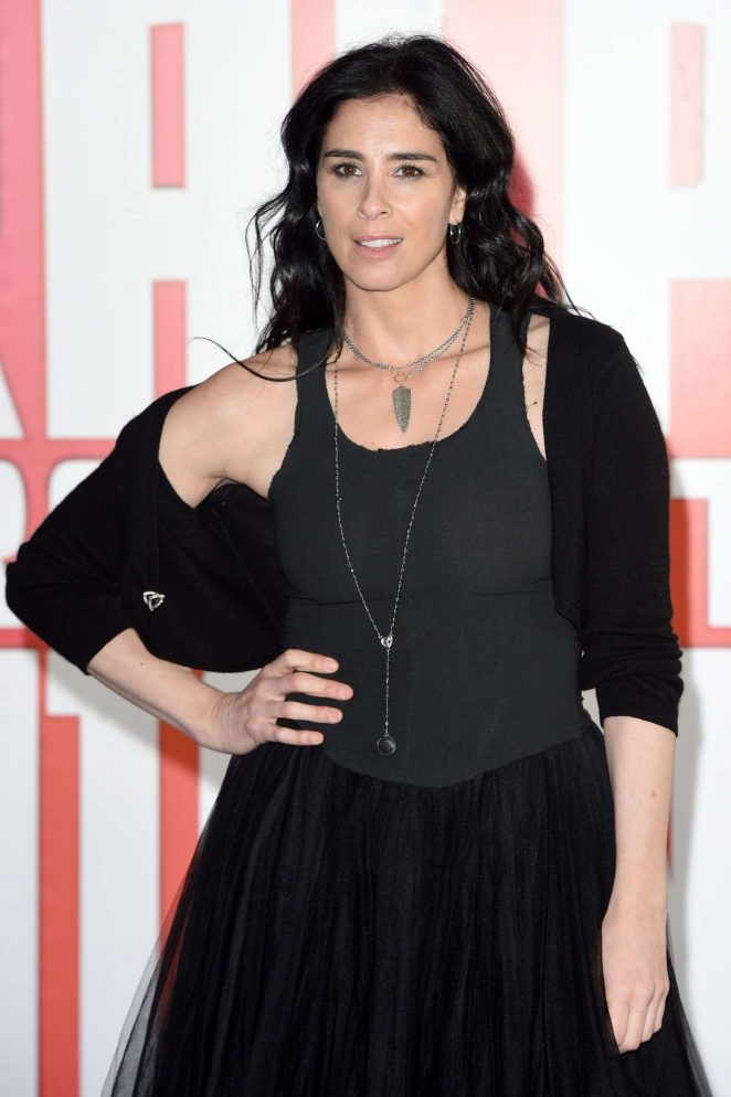 Sarah Silverman – 'Ralph Breaks The Internet' Premiere in London