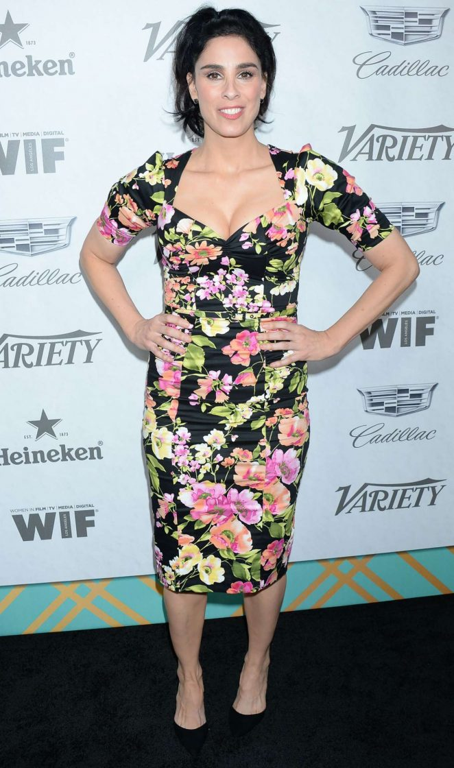 Sarah Silverman - Variety and Women in Film Pre-Emmy Party in LA