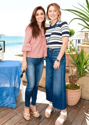 Sasha Alexander and Shiri Appleby - Madewell and the Surfrider Foundation Collaboration Launch in Malibu