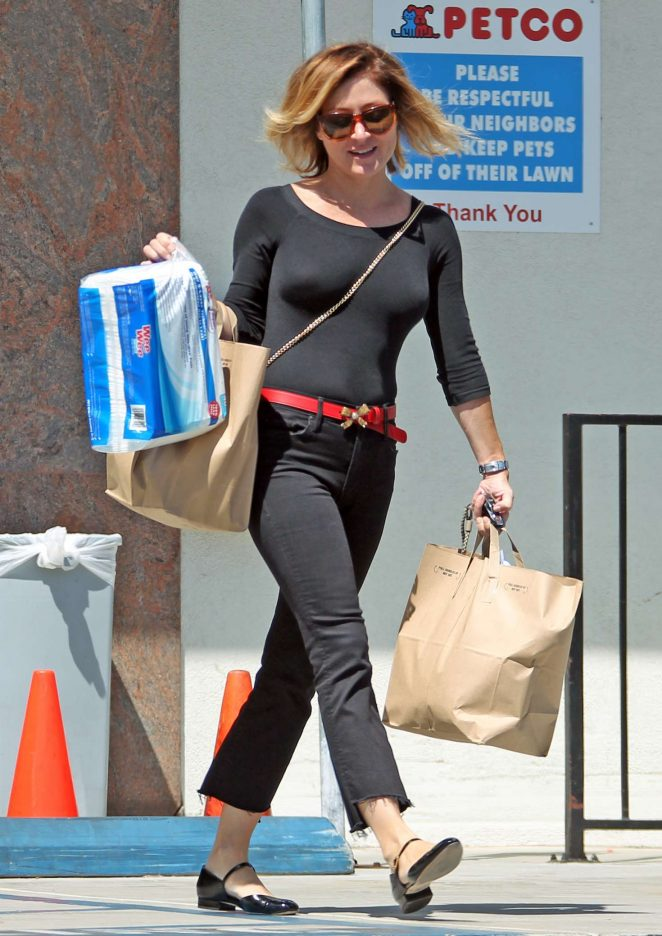 Sasha Alexander out in Beverly Hills