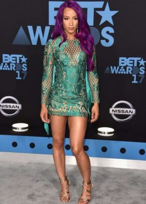Sasha Banks - 2017 BET Awards in Los Angeles