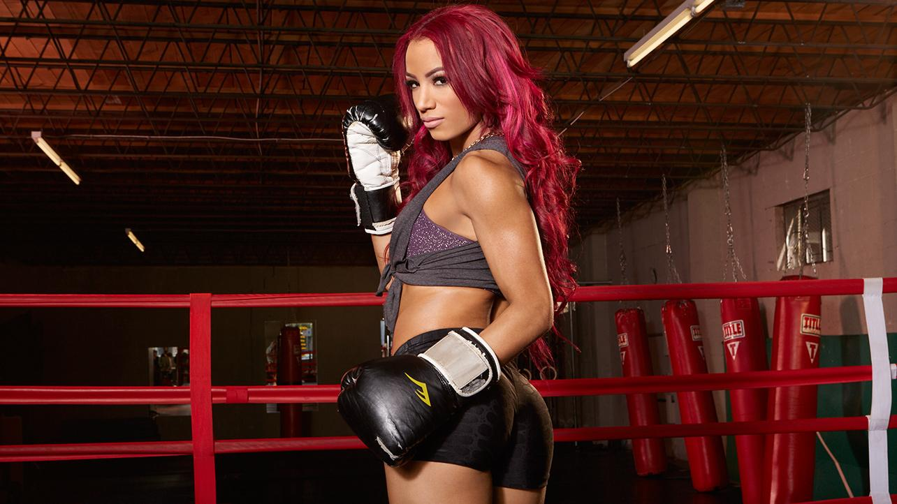 Sasha Banks - WWE Divas Fight Club Photoshoot