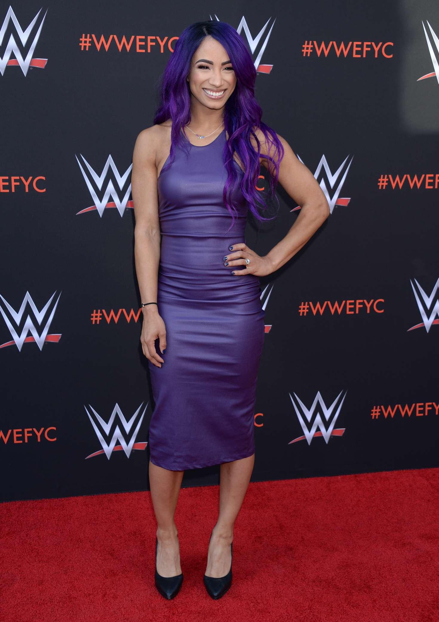 Sasha Banks - WWE FYC Event in Los Angeles