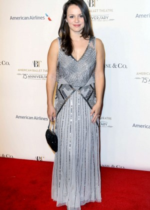 Sasha Cohen - American Ballet 75th Anniversary Fall Gala in NYC