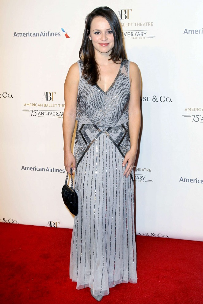 Sasha Cohen – American Ballet 75th Anniversary Fall Gala in NYC