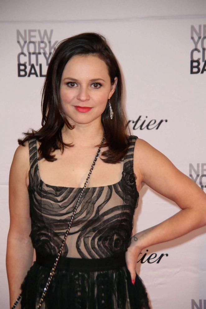 Sasha Cohen - New York City Ballet Spring Gala in NY