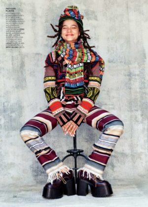 Sasha Lane - Vogue US Magazine (October 2017 issue)