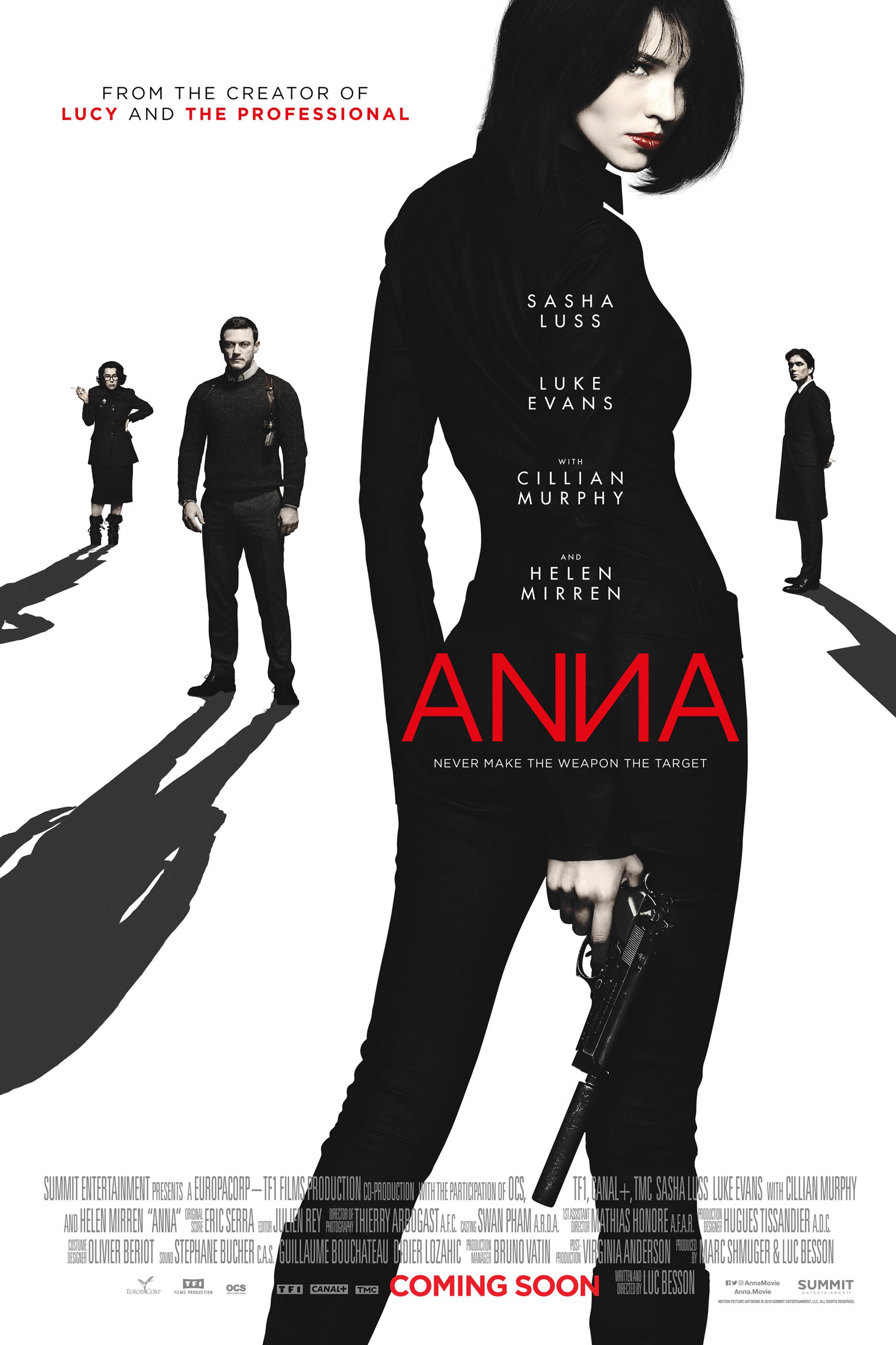 Sasha Luss  - 'Anna' Posters 2019