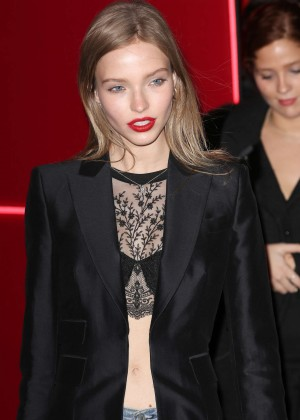 Sasha Luss - Attends at L'Oreal Red Obsession Party 2016 in Paris