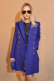 Sasha Luss - Balmain Fashion Show at Paris Fashion Week 2020