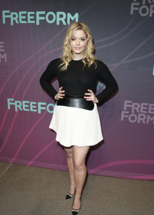 Sasha Pieterse - 2016 ABC Freeform Upfront in New York