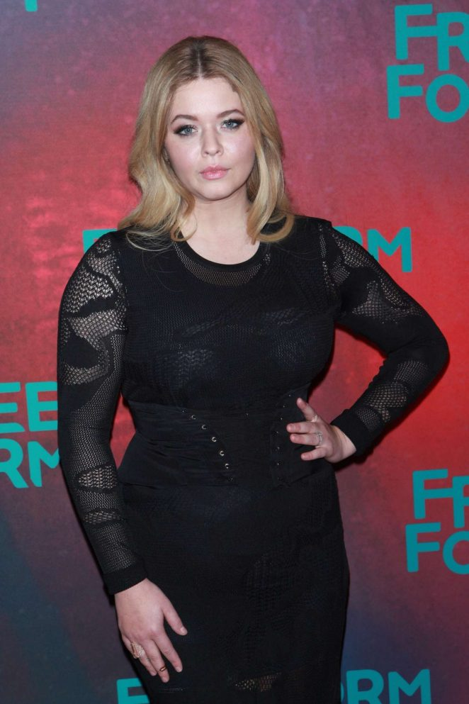 Sasha Pieterse - 2017 Freeform Upfront in New York