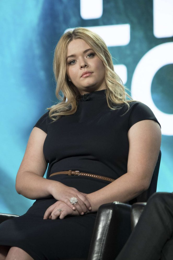Sasha Pieterse - 'Pretty Little Liars' Panel at TCA Winter Press Tour in Pasadena