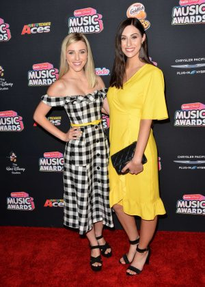Savannah Shay and Amanda Quinn Burhoe - 2018 Radio Disney Music Awards in Hollywood