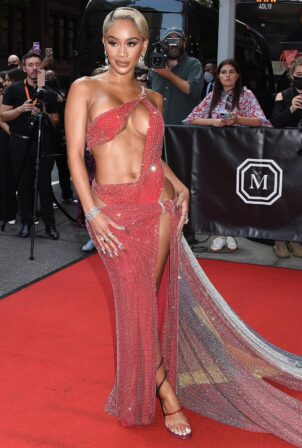 Saweetie - departing The Mark Hotel in New York City for the 2021 Met Gala