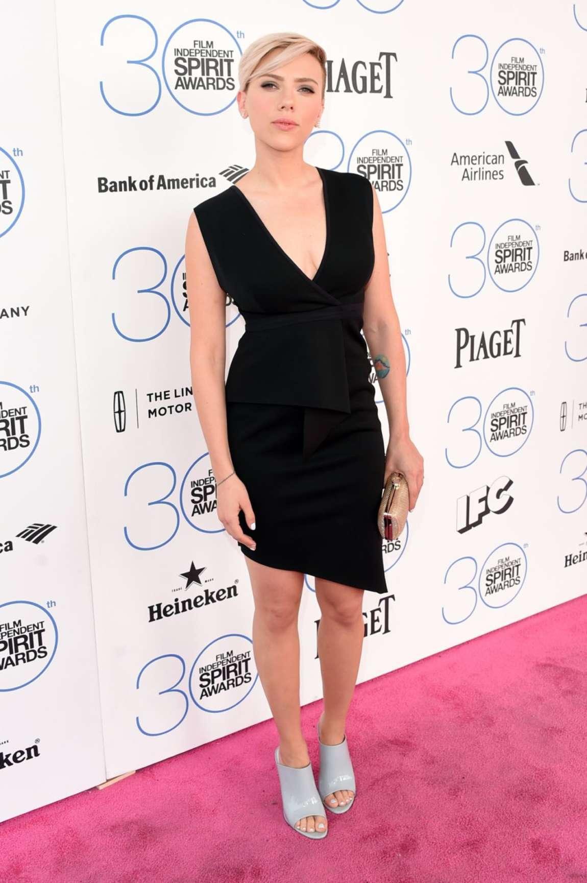 Scarlett Johansson - 2015 Film Independent Spirit Awards in Santa Monica