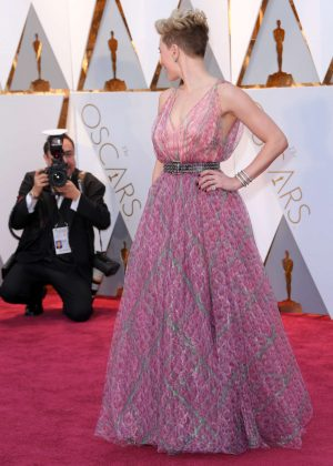 Scarlett Johansson 2017 Academy Awards In Hollywood Gotceleb