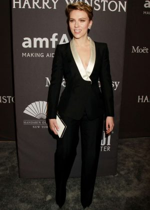 Scarlett Johansson - 2017 amfAR New York Gala in New York City