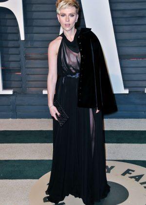 Scarlett Johansson - 2017 Vanity Fair Oscar Party in Hollywood