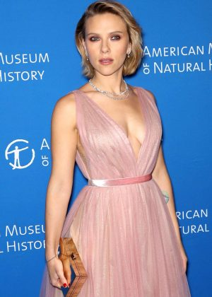Scarlett Johansson - 2018 American Museum of Natural History Gala in NYC
