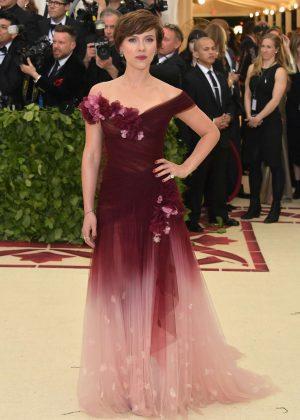 Scarlett Johansson - 2018 MET Gala in NYC