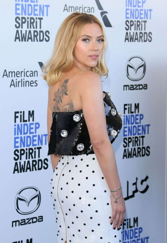 Scarlett Johansson - 2020 Film Independent Spirit Awards in Santa Monica