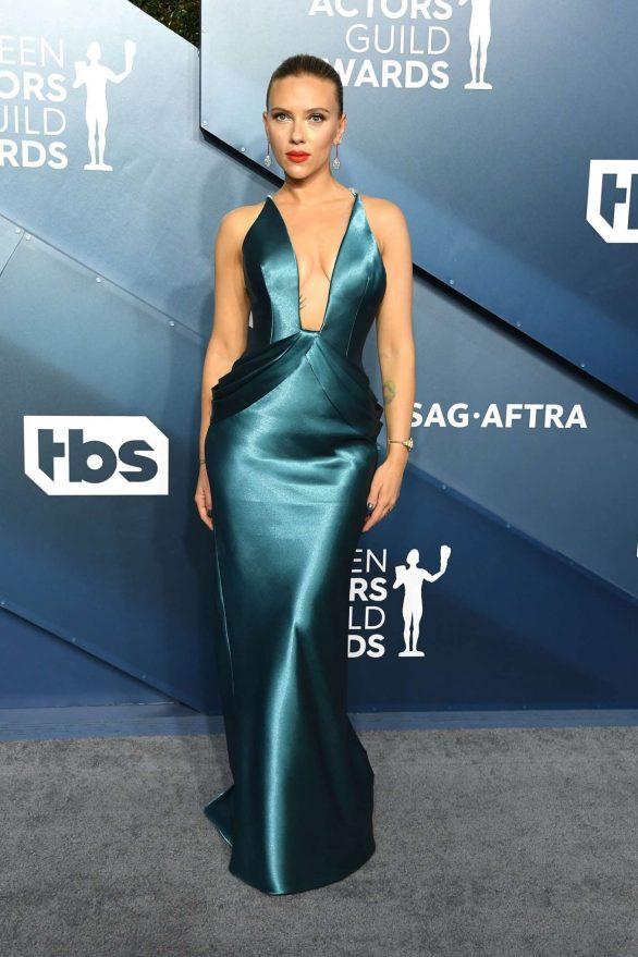 Scarlett Johansson - 2020 Screen Actors Guild Awards in Los Angeles