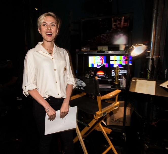 Scarlett Johansson - Academy Awards Rehearsals in Hollywood