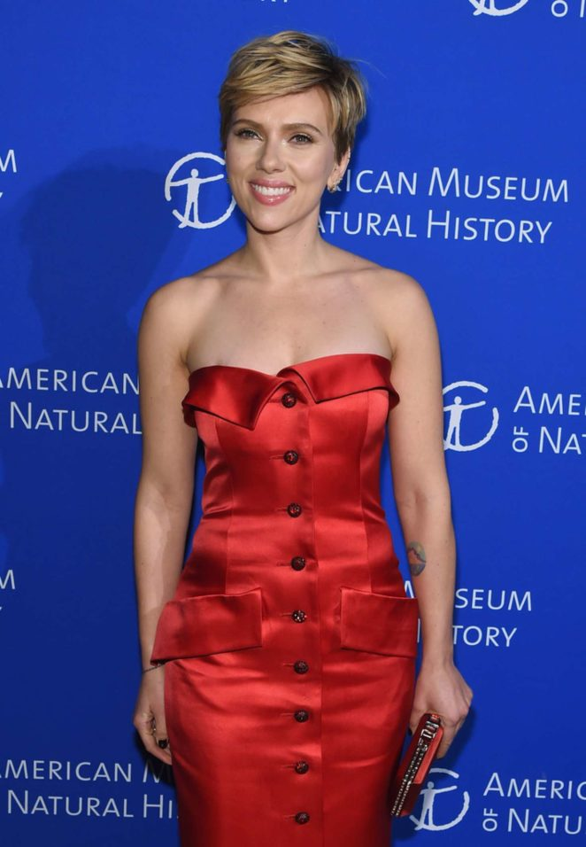 Scarlett Johansson - American Museum Of Natural History's 2017 Museum Gala in NY