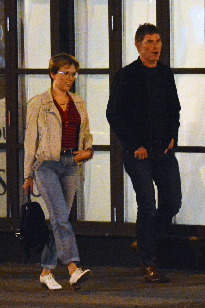 Scarlett Johansson and Bobby Flay out for a dinner -07