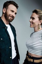 Scarlett Johansson and Chris Evans - Variety Magazine (November 2019)