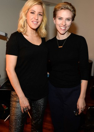 Scarlett Johansson and Ellie Goulding - American Express Presents AMEX UNSTAGED Featuring Ellie Goulding in NY