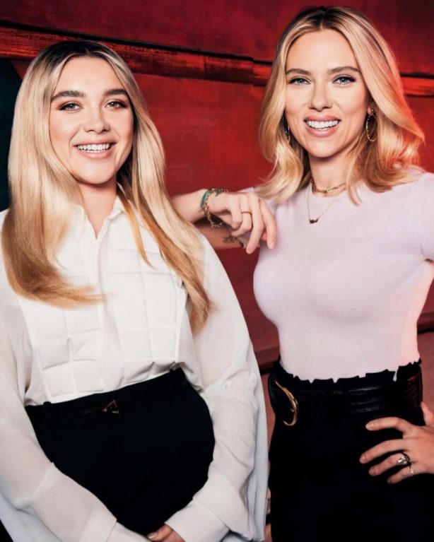 Scarlett Johansson and Florence Pugh - Empire magazine (October 2020)