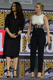 Scarlett Johansson and Rachel Weisz - 'Black Widow' Panel at Comic-Con 2019 in San Diego