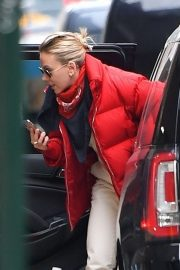 Scarlett Johansson - Arrives for Saturday Night Live Rehearsals at NBC Studios in New York