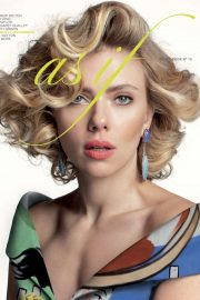 Scarlett Johansson - As If Magazine (Spring/summer 2019)